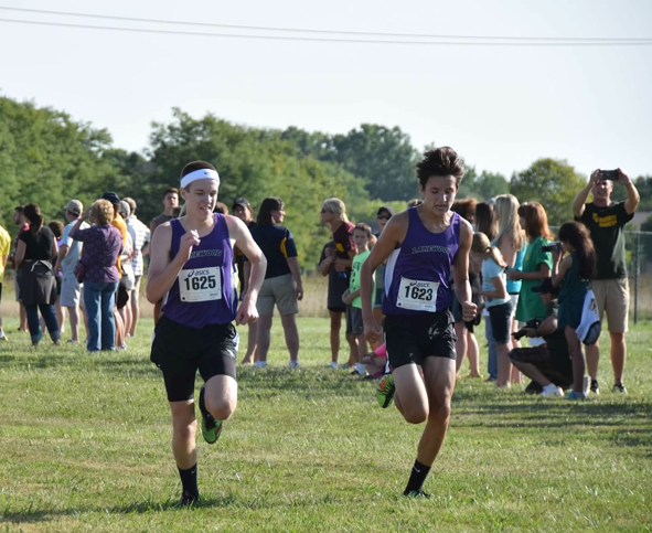 Boys' Cross Country Takes 2nd at Conference Preview
