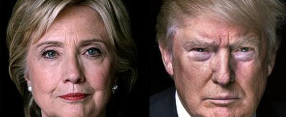 Clinton, by a landslide