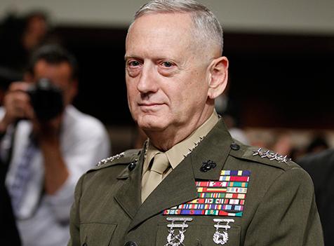 Trump Nominates Mattis for Defense Secretary