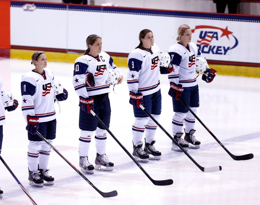 USA women's hockey team boycotting unfair wages
