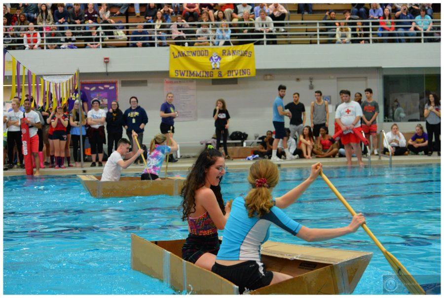 The Lakewood High Physics Boat Regatta