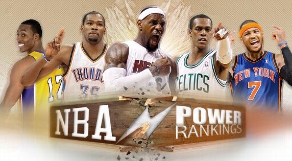 April 2017 power rankings.