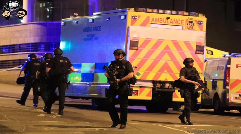 First Responders at the Manchester Arena
