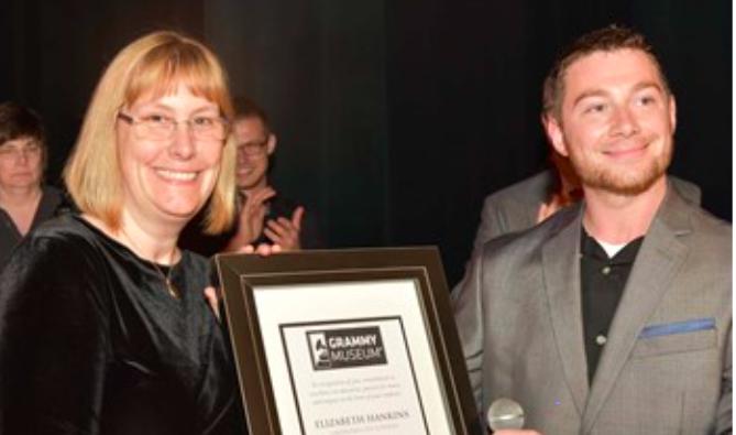 Hankins receives Grammy finalist award