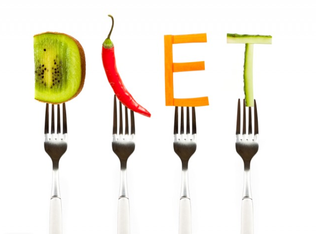 Diet+Spelled+Out+Using+Kiwi%2C+Pepper%2C+Carrot%2C+and+Cucumber