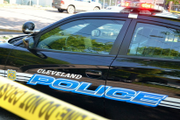 Hearing impaired 12-year-old on bicycle hurt in Cleveland shootout involving two cars