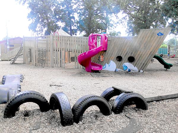Lakewood Parks new playground