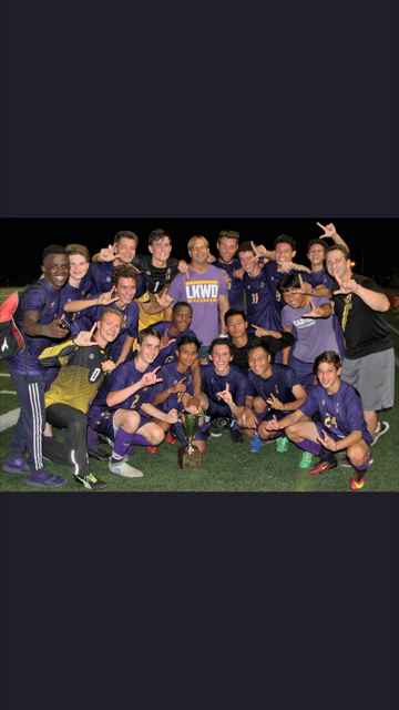 Community Cup Winners: Lakewood Boys Soccer