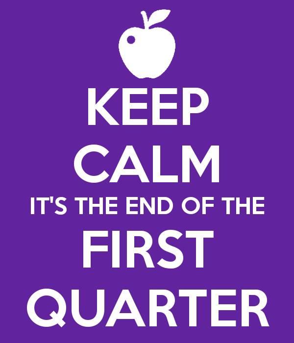 The End 1st Quarter
