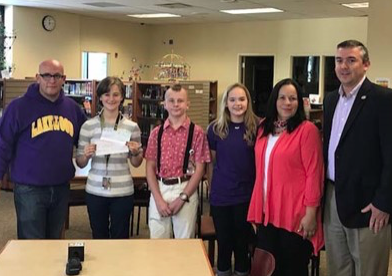 School Raises $2000 for Hurricane Relief
