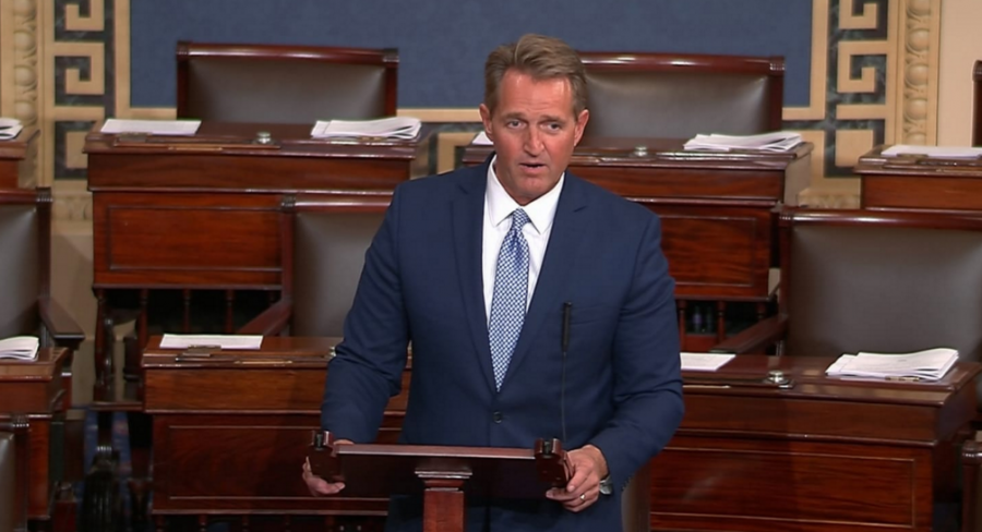 Sen. Flake Slams Trump On Senate Floor