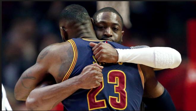 Cleveland+Cavaliers%3B+Derrick+Rose+vs+Dwyane+Wade