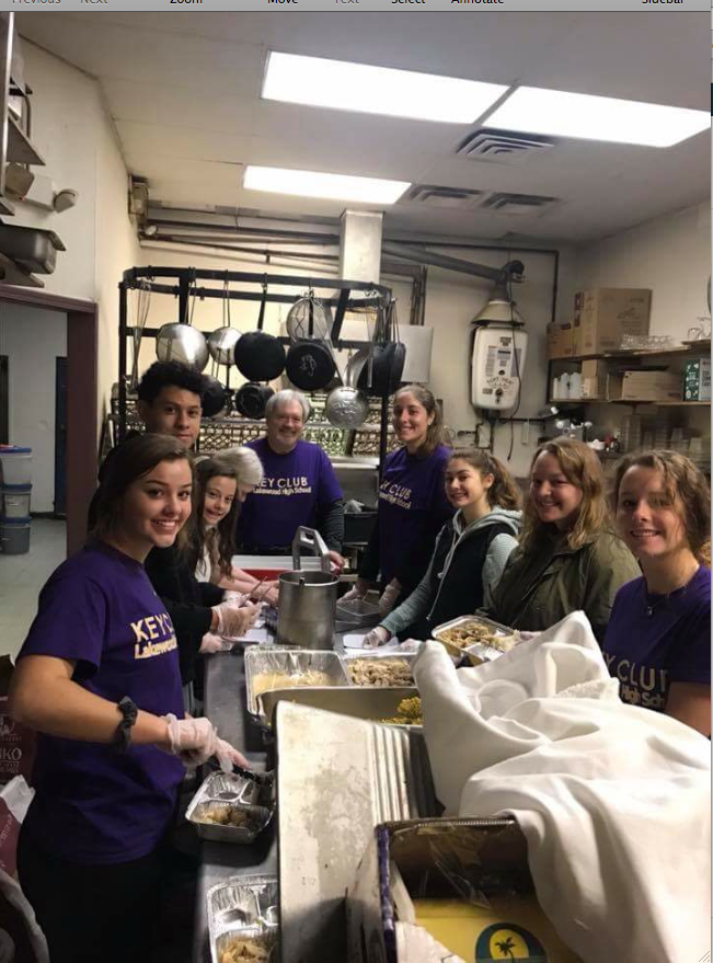LHS Key Club: Volunteering in Lakewood