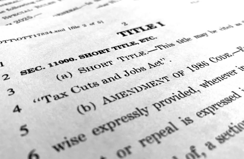 The Republican Tax Bill