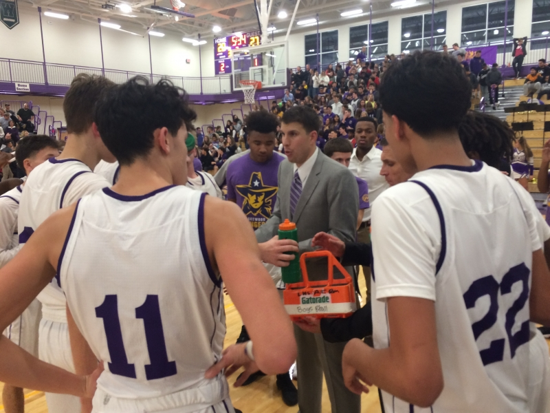 St. Edwards Beats LHS in First Game in New Gym