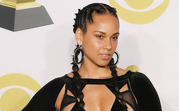 Alicia Keys No Makeup Vow