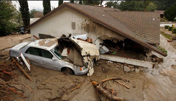 California Mudslides Take the Lives of 17
