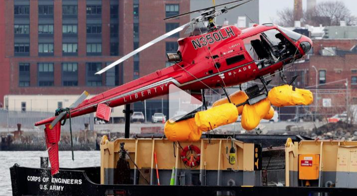Helicopter went down in NYC