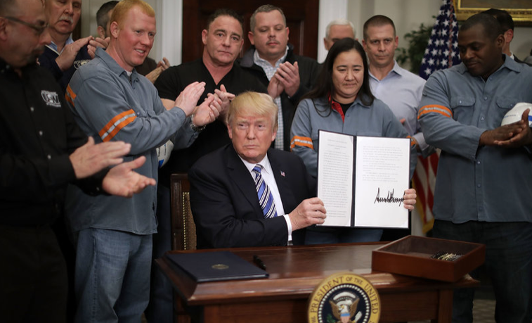 Trump Implemented Steel Tariff. What Does That Mean?