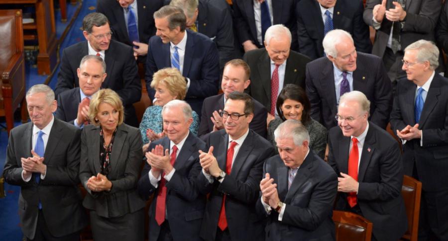 Trump's Secretaries Living Lavishly