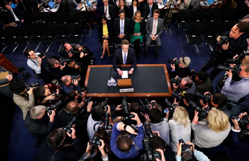 Facebook CEO Testifies to Congress