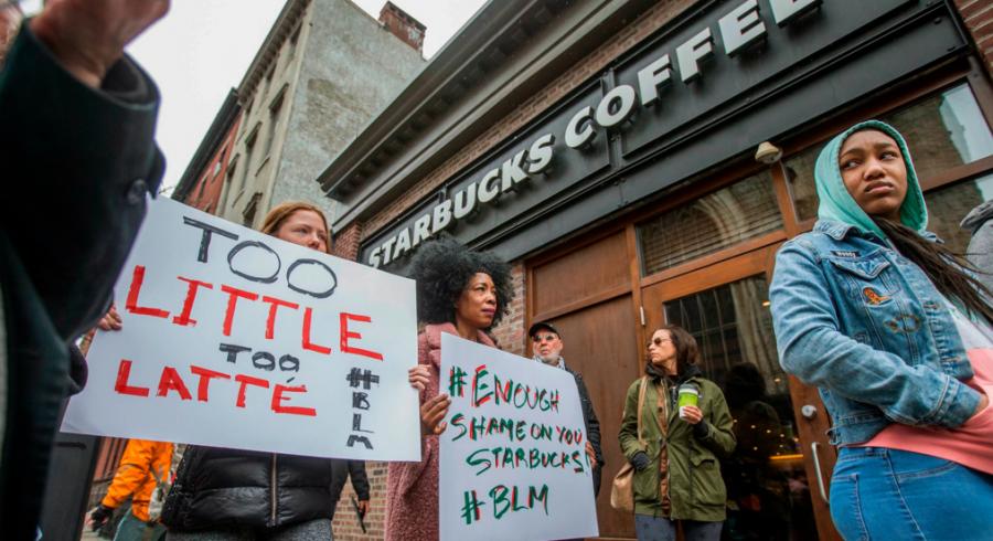 Starbucks Arrests Sparks Outrage