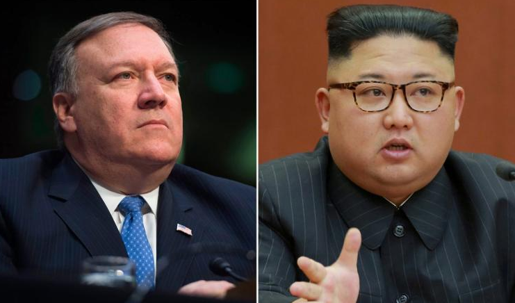 CIA Director Meets With Kim Jong Un