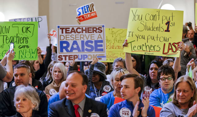 Oklahoma Teachers End Walkout