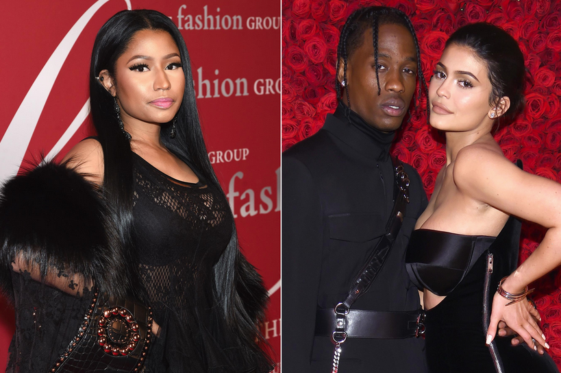 Nicki+Minaj+Accuses+Travis+Scott+of+Exploiting+Kylie+Jenner+and+His+Daughter+to+Promote+Album