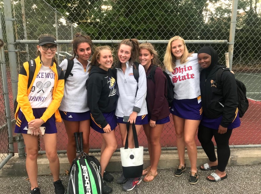 Girls Varsity Tennis Remains Undefeated