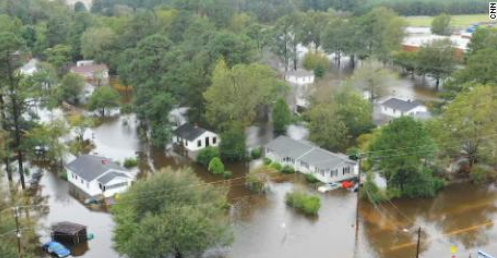 Flooding Drowns Carolinas