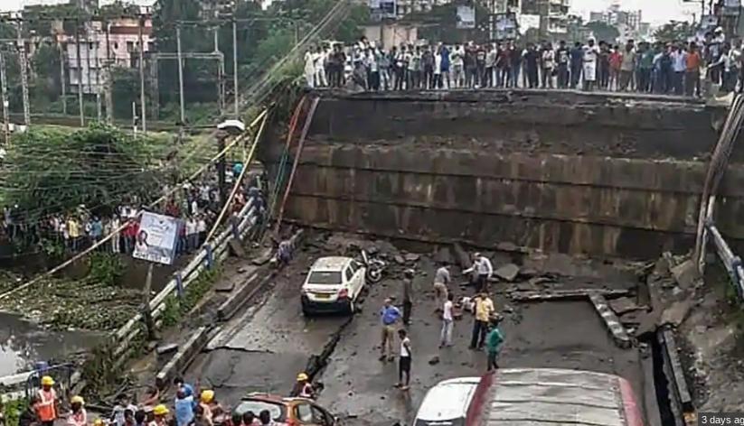 Bridge in South Kolkata Collapsed