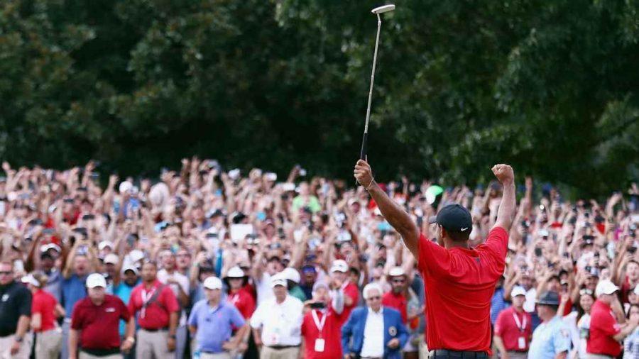 Tiger Woods Wins 80th PGA Tour Event