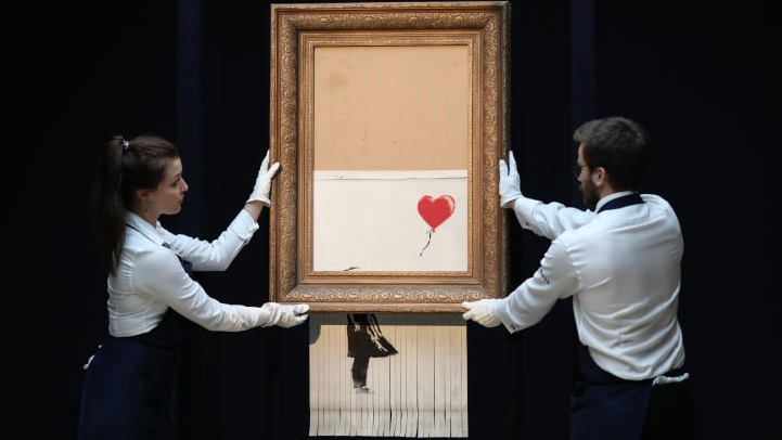 Banksy+and+the+Destruction+of+Art