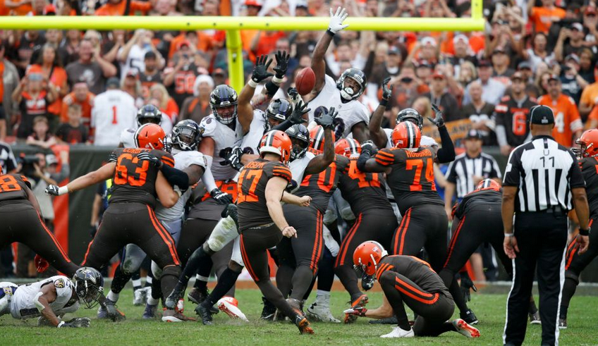 Cleveland Browns Beat The Baltimore Ravens