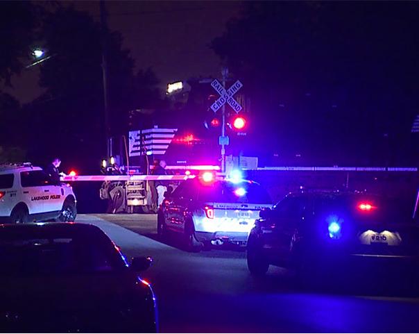 Lakewood Pedestrian Hit by a Train