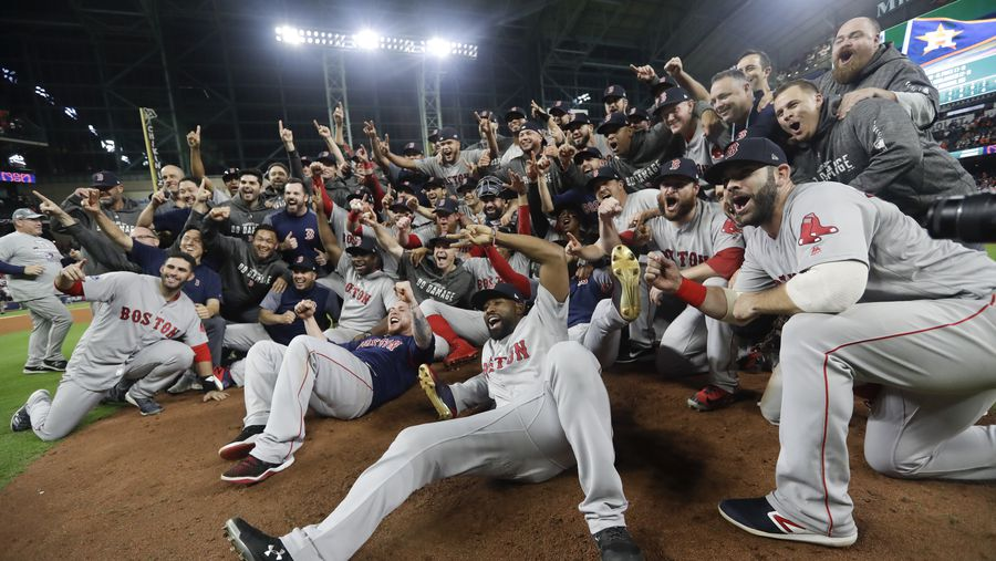 Boston Red Sox World Series Bound