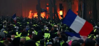 Protests In France Turn Ugly
