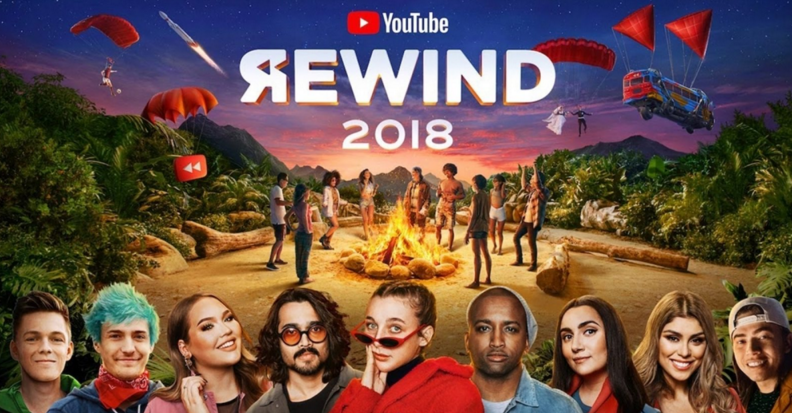 YouTube Rewind Failure