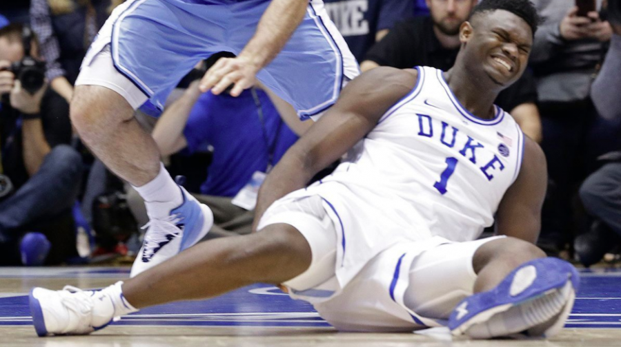 Duke Player Injured by Busted Nike