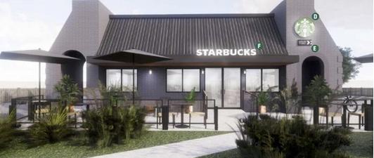 First Starbucks Opening in Lakewood