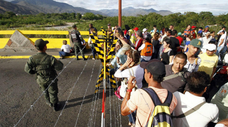 Shooting At The Border Of Brazil And Venezuela