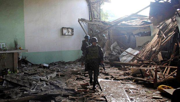 Philippines Church Bombing Kills Twenty People