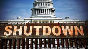Another Government shutdown?