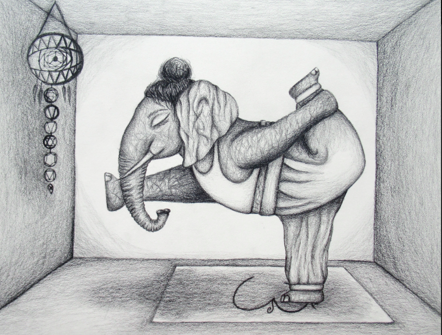 Drawing by Kallie Mitchell