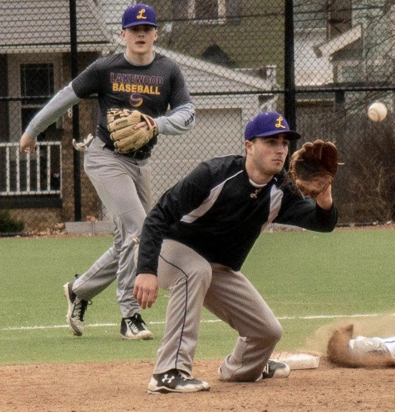 Rangers Varsity Baseball Shut Out Amherst