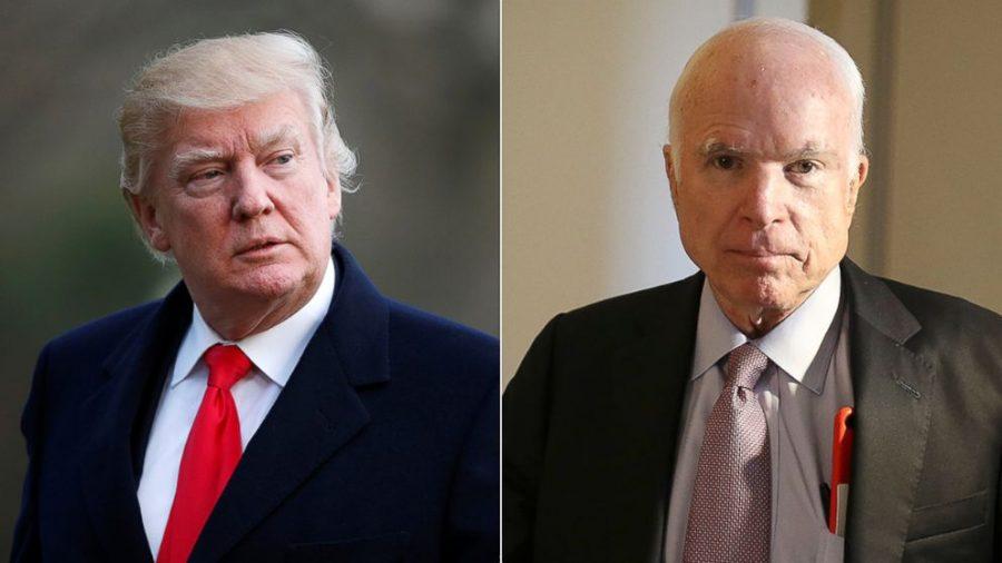 Donald Trump Mocks Late John McCain