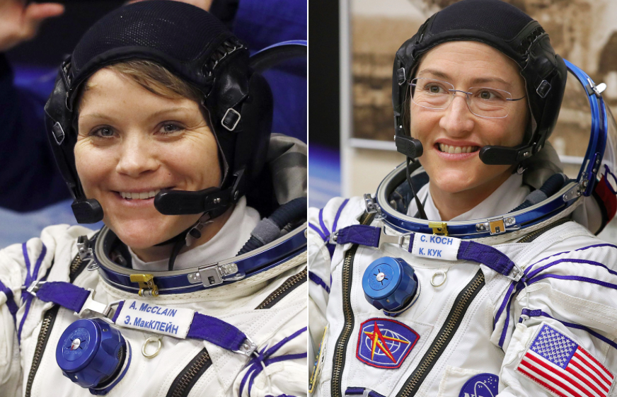 First All Female space walk canceled because of spacesuit sizes
