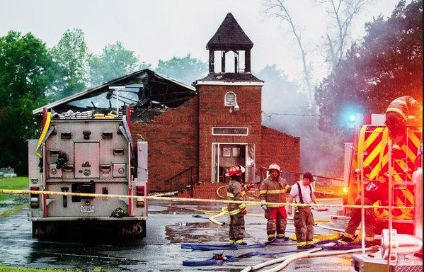 Historically Black Louisiana Church Fires are Notably the Same
