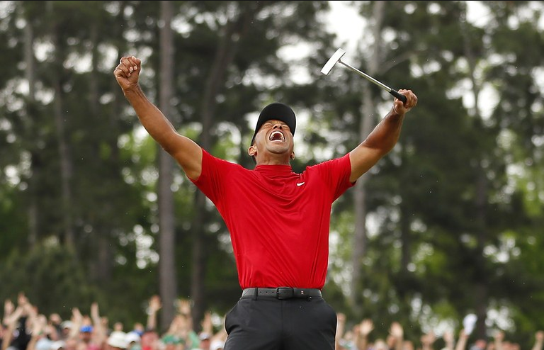 Tiger+Woods+Captures+His+First+Masters+Victory+Since+2005